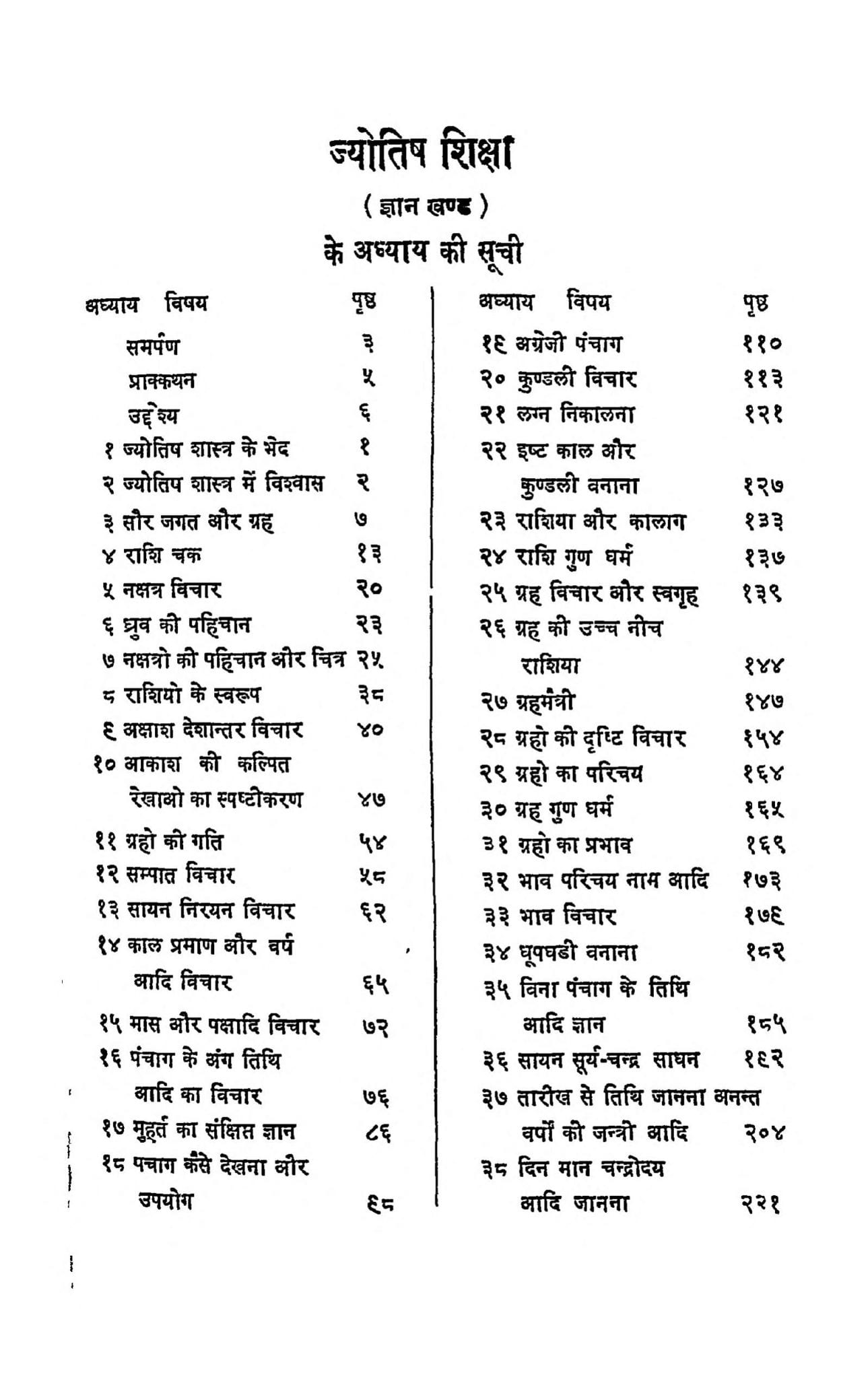 Sachitra Jyotish Shiksha  prarmbhik Gyan Khand by श्री ठाकुर चन्द्र - Shri Thakur Chandra
