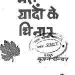 Meri Yadon Ke Chinar by कृष्ण चंदर - Krishna Chandar
