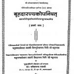 Brhada rnayak opanishad Bhag 1  by आनन्द गिरि - Anand Giriश्री शंकराचार्य - Shri Shankaracharya