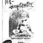 Hindu Sanskritipradeep by महादेव शास्त्री दिवेकर - Mahadev Shastri Divekar