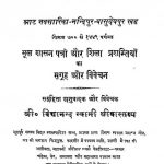 Shri Cholukya Chandrika by शारदाकुमार श्रीवास्तव्य - shardakumar shreevastavay