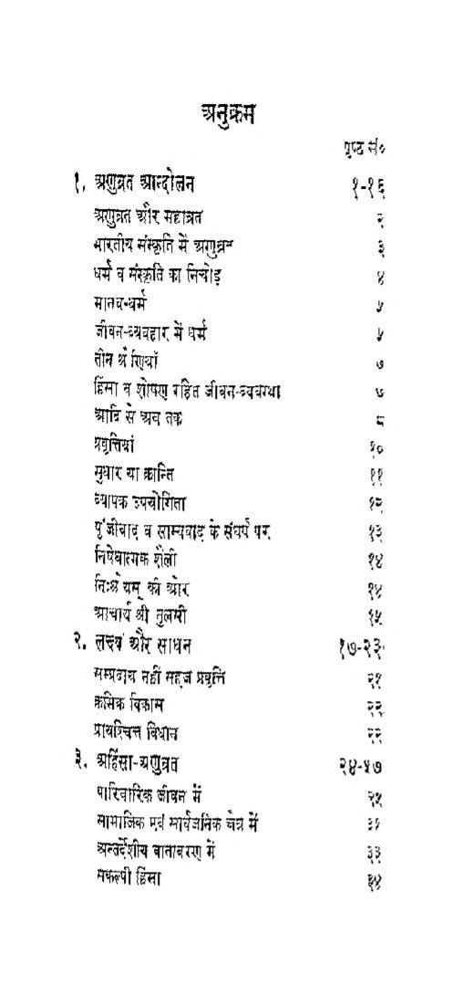 Book Image : अणुव्रत जीवन दर्शन  - Anuvrat Jeevan Darshan